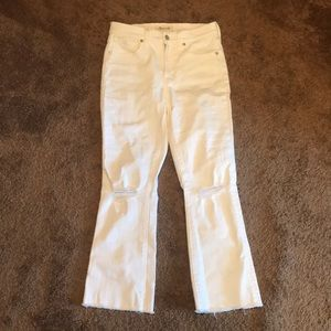 Madewell White Jeans